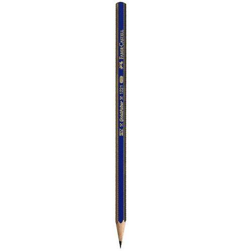مداد طراحی فابر کاستل مدل گلد فابر با درجه سختی نوک 6B