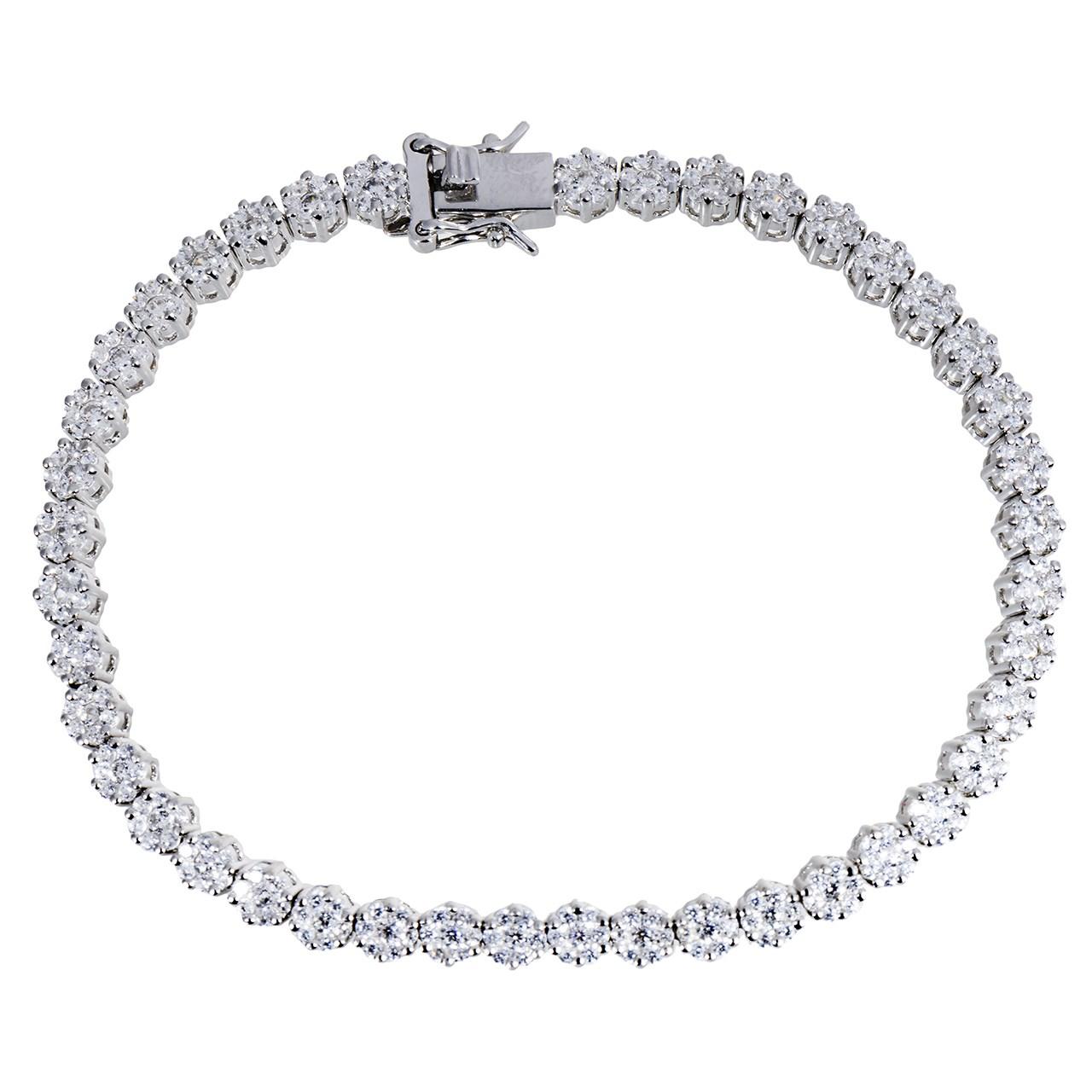 قیمت دستبند نقره مایا مدل MSB120