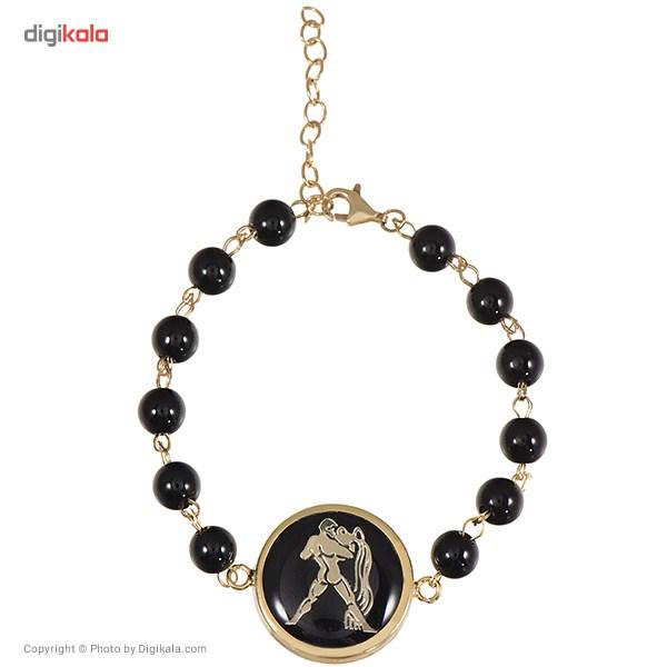 دستبند طلا 18 عیار ماهک مدل MB0136 - مایا ماهک -  - 1