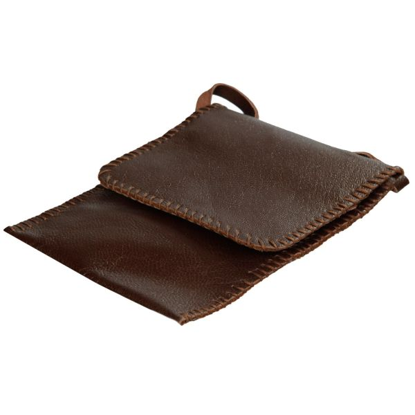 کیف پاسپورت چرم طبیعی بز