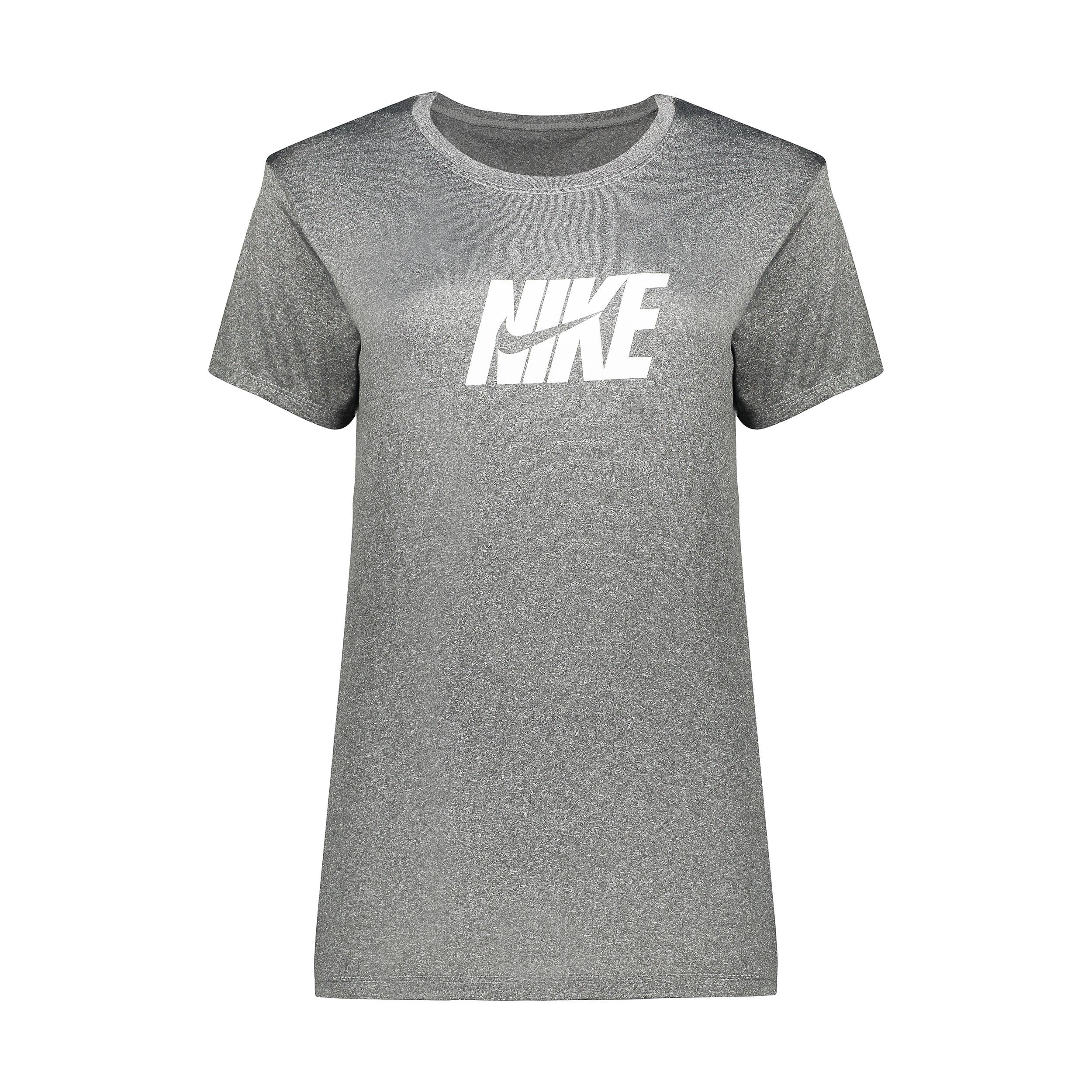 تی شرت ورزشی پسرانه مدل Q601رنگ طوسی غیر اصل