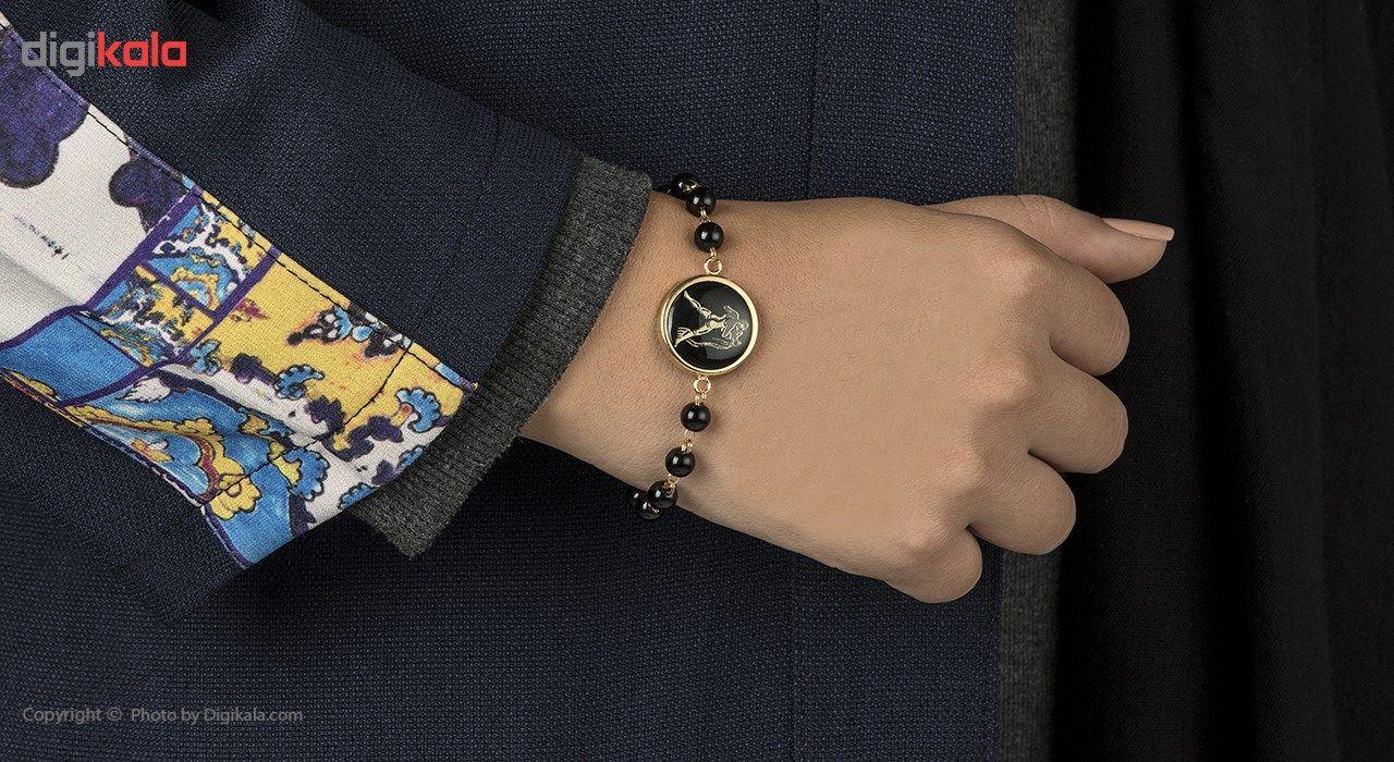دستبند طلا 18 عیار ماهک مدل MB0136 - مایا ماهک -  - 2