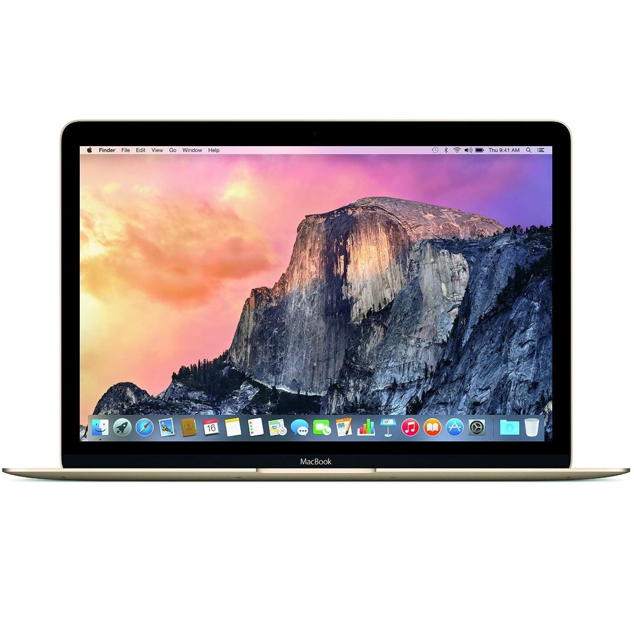 لپ تاپ 12 اینچی اپل مک بوک مدل MK4M2 با صفحه نمایش رتینا