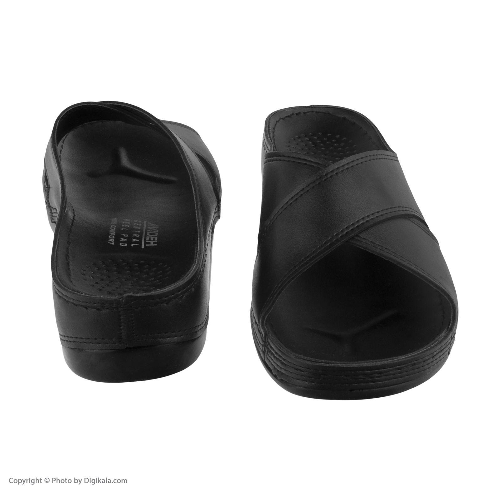 دمپایی زنانه کفش آویده کد av-0304501 رنگ مشکی -  - 8