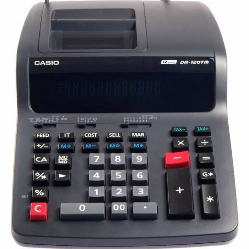 ماشین حساب کاسیو مدل DR-120 TM