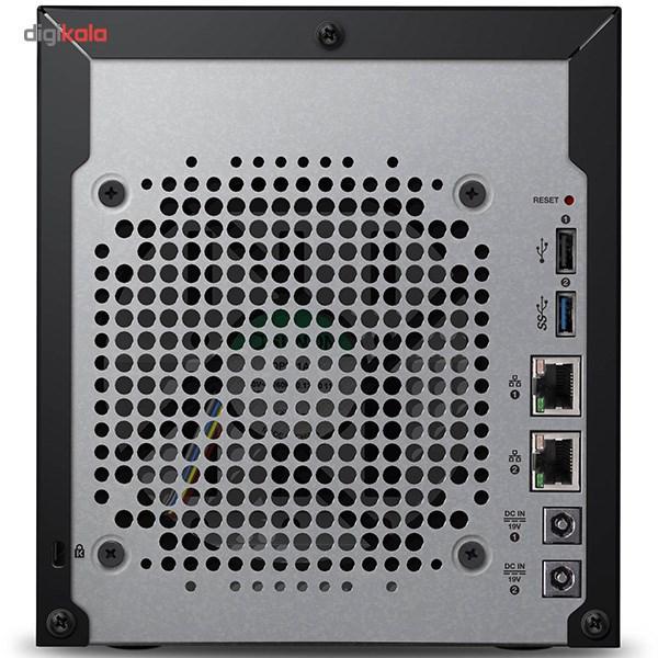 ذخیره ساز تحت شبکه وسترن دیجیتال مدل My Cloud DL4100 WDBNEZ0160KBK-EESN 4-Bay ظرفیت 16 ترابایت