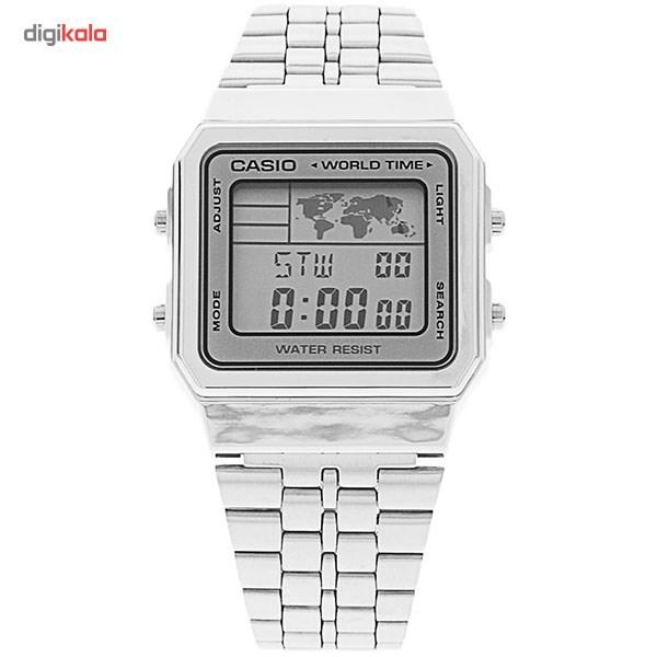 خرید ساعت مچی دیجیتال مردانه کاسیو مدل A500WA-7DF | ساعت مچی