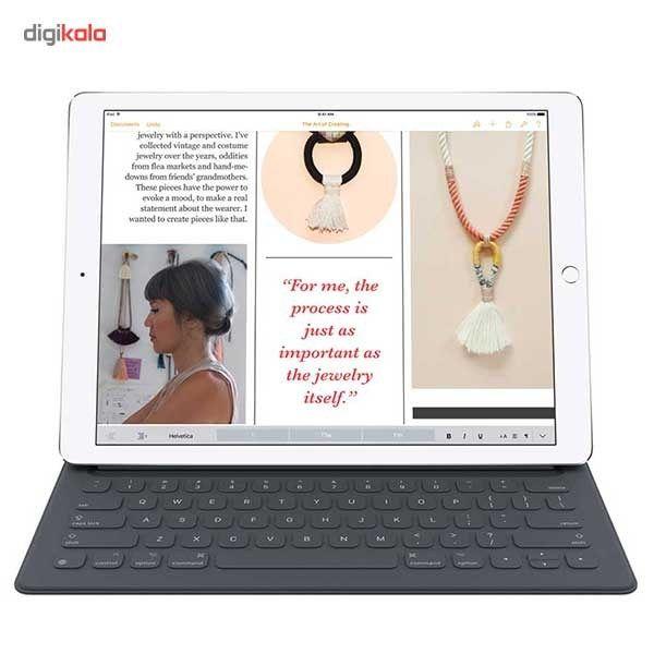 تبلت اپل مدل iPad Pro 12.9 inch 4G به همراه کیبورد ظرفیت 128 گیگابایت