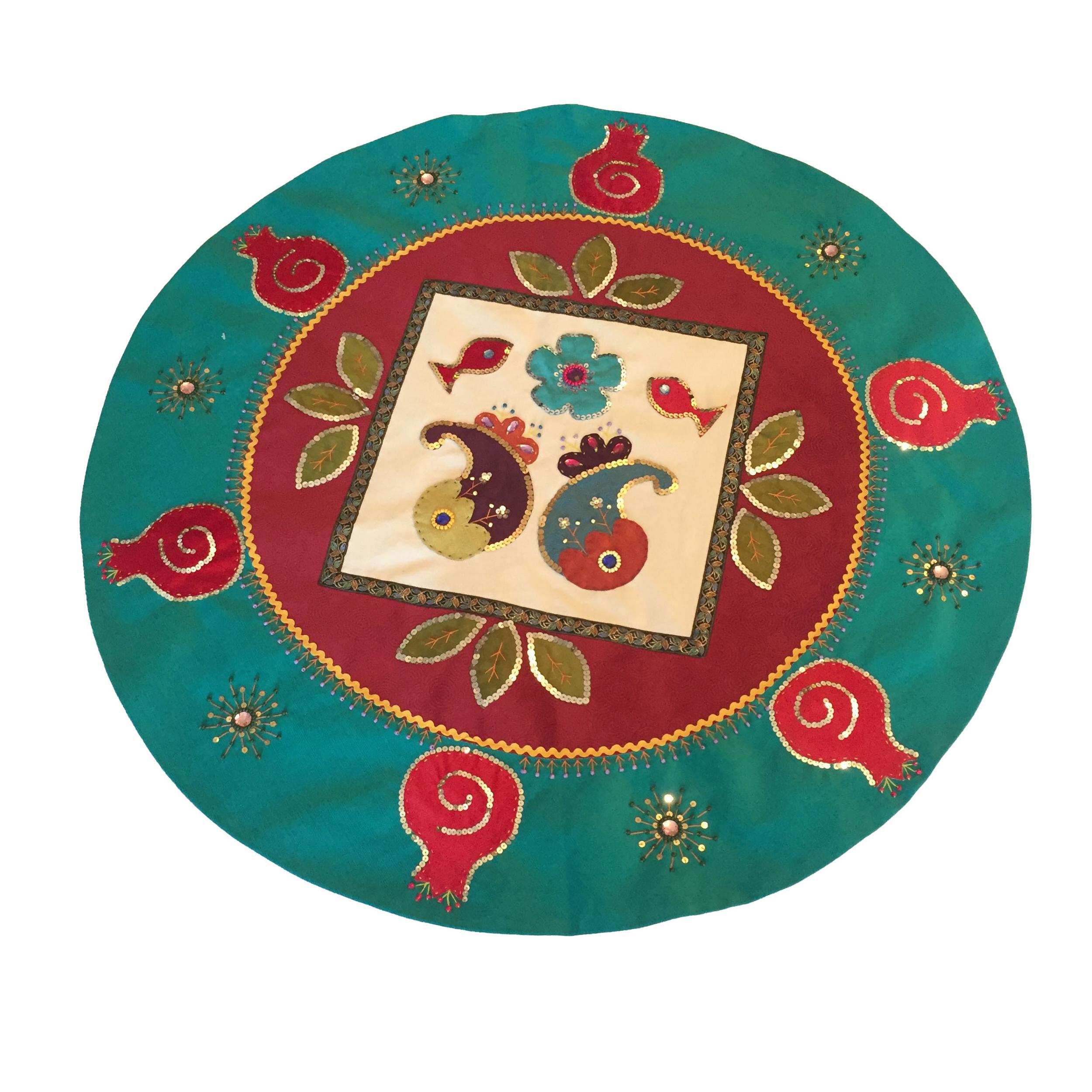 رومیزی طرح سنتی کد 001