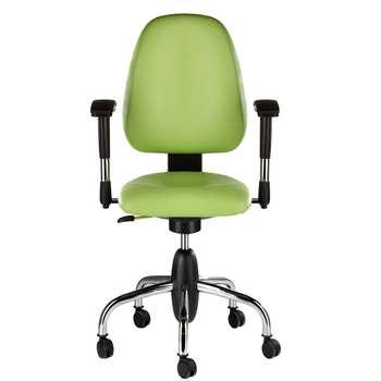صندلی اداری نیلپر مدل SK504h چرمی