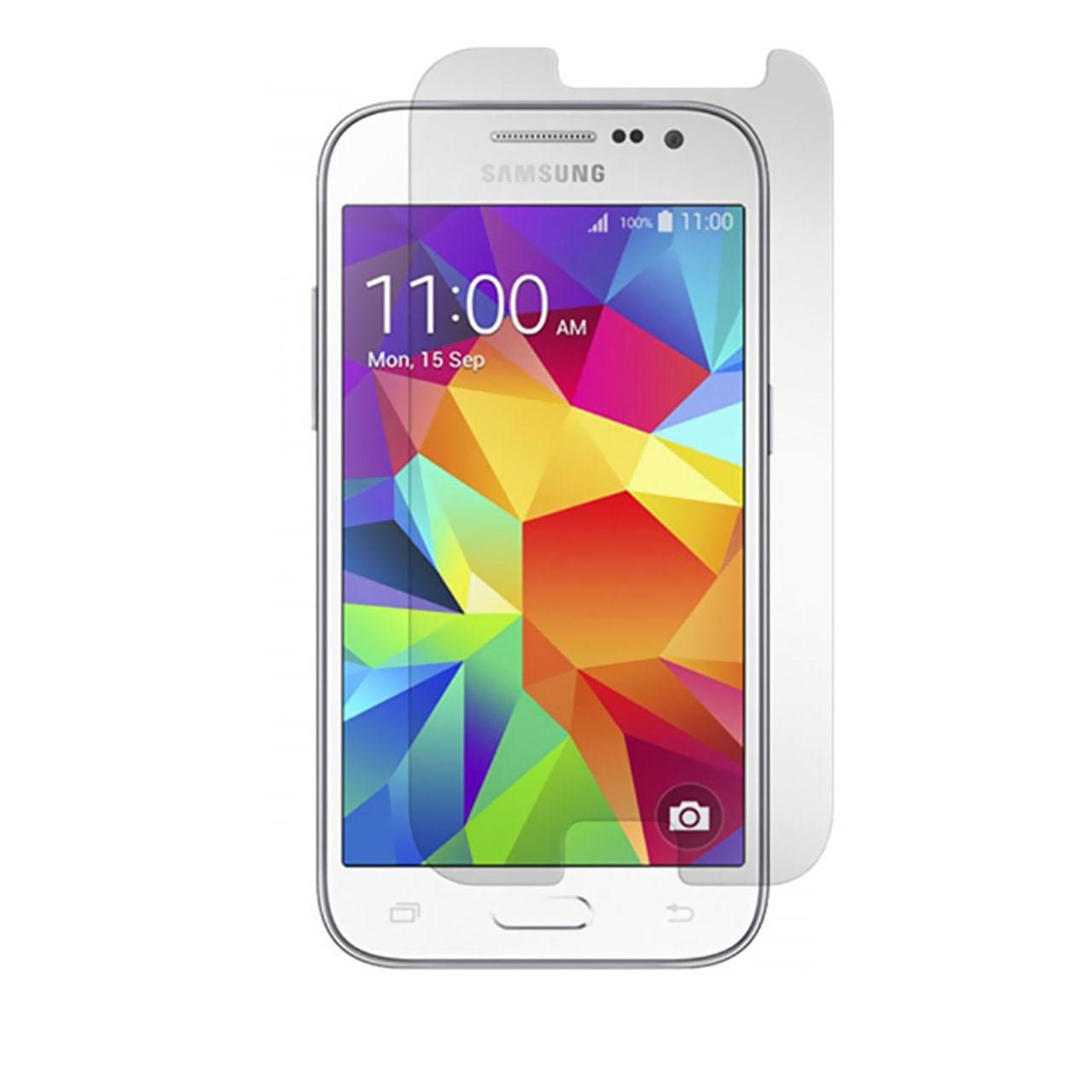 محافظ صفحه نمایش شیشه ای مدل Tempered مناسب برای گوشی موبایل سامسونگ Galaxy Core Prime