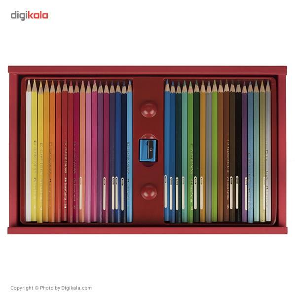 مداد رنگی 36 رنگ فابر-کاستل مدل Classic main 1 4