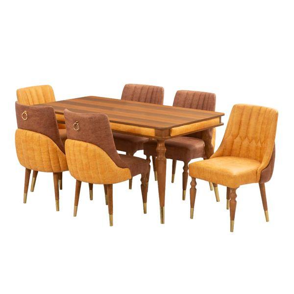 میز و صندلی ناهارخوری مدل کاترین کد 30