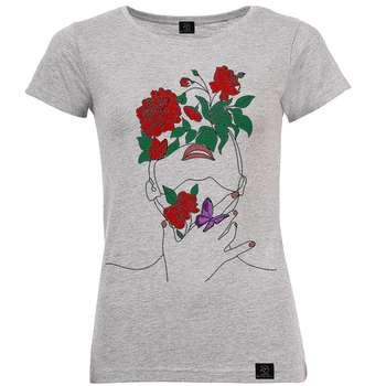 تی شرت زنانه 27 مدل دختر طبیعت کد V59