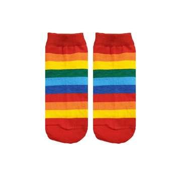 جوراب زنانه مدل رنگین کمان R55