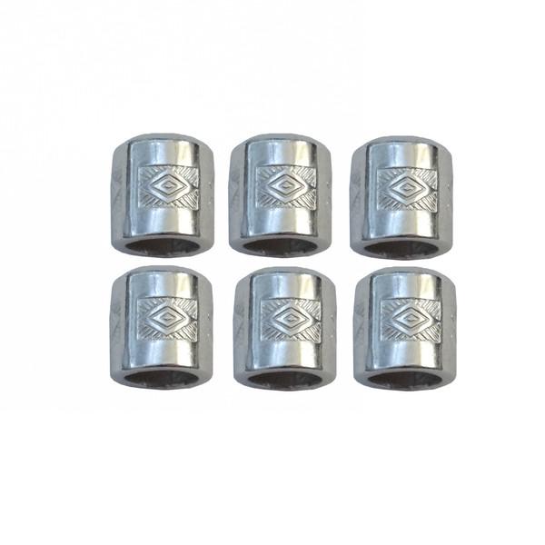 مهره دستبند مدل SBND.SIL.6 بسته 6 عددی