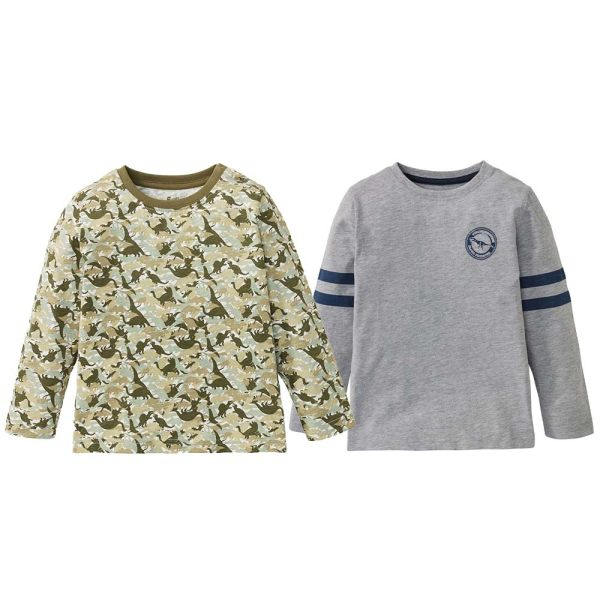 تی شرت پسرانه لوپیلو کد hnl03 مجموعه 2 عددی