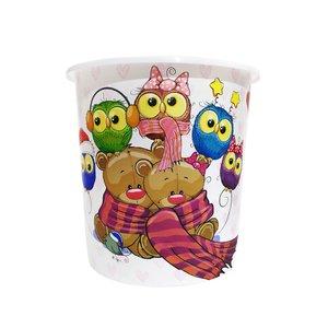 سطل زباله اتاق کودک طرح خرسی کد 513