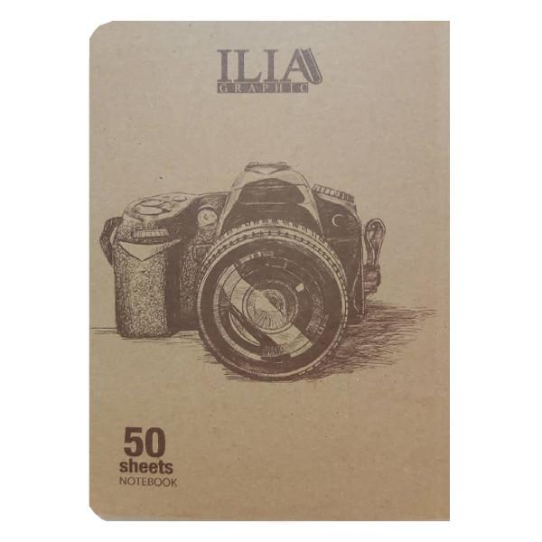 دفتر نقاشی 50 برگ ایلیا گرافیک کد 501n