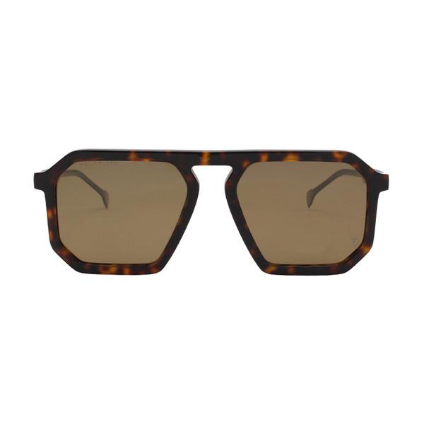 عینک آفتابی مردانه تی-شارج مدل T9072 - G21