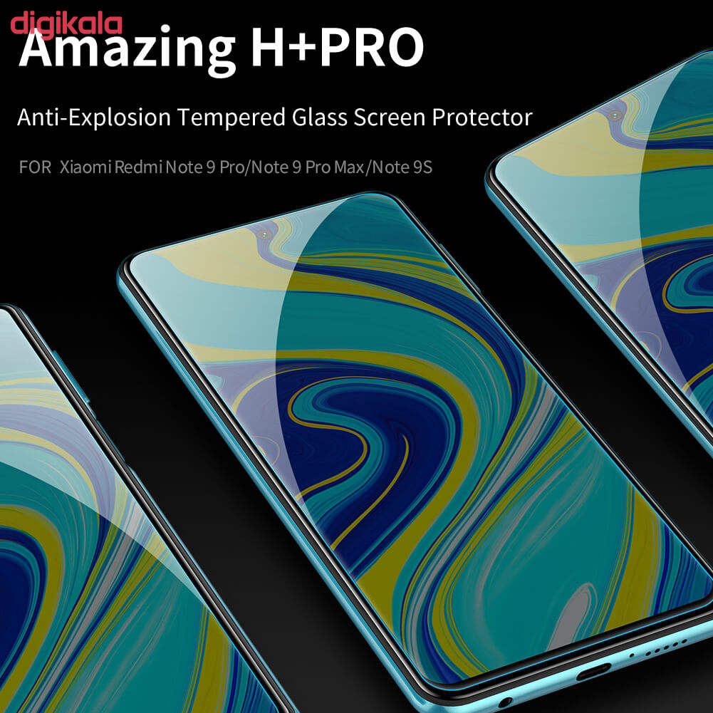 محافظ صفحه نمایش و پشت گوشی مدل RA-08 مناسب برای گوشی موبایل شیائومی Redmi note 9s/9 pro/pro max به همراه محافظ لنز دوربین main 1 2