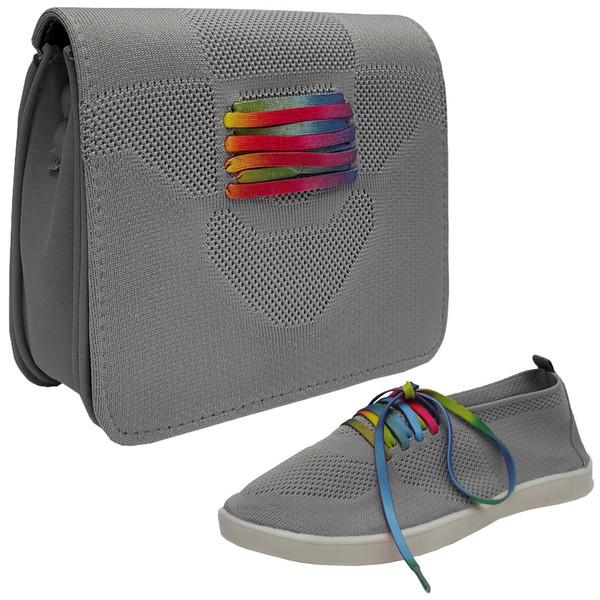 ست کیف و کفش زنانه مدل بندلایت کد SG278