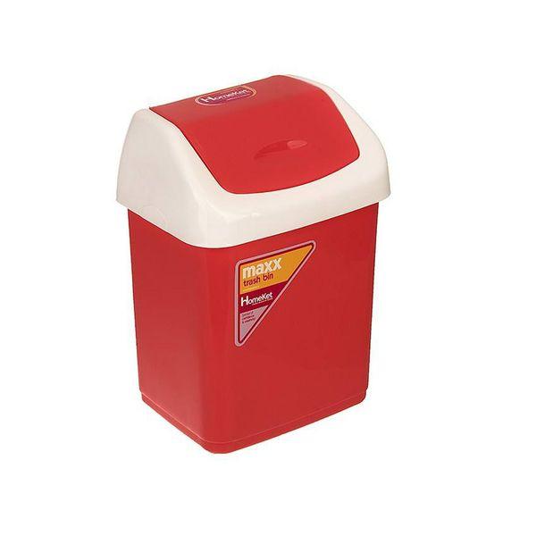 سطل زباله هوم کت مدل بادبزنی کد 2403
