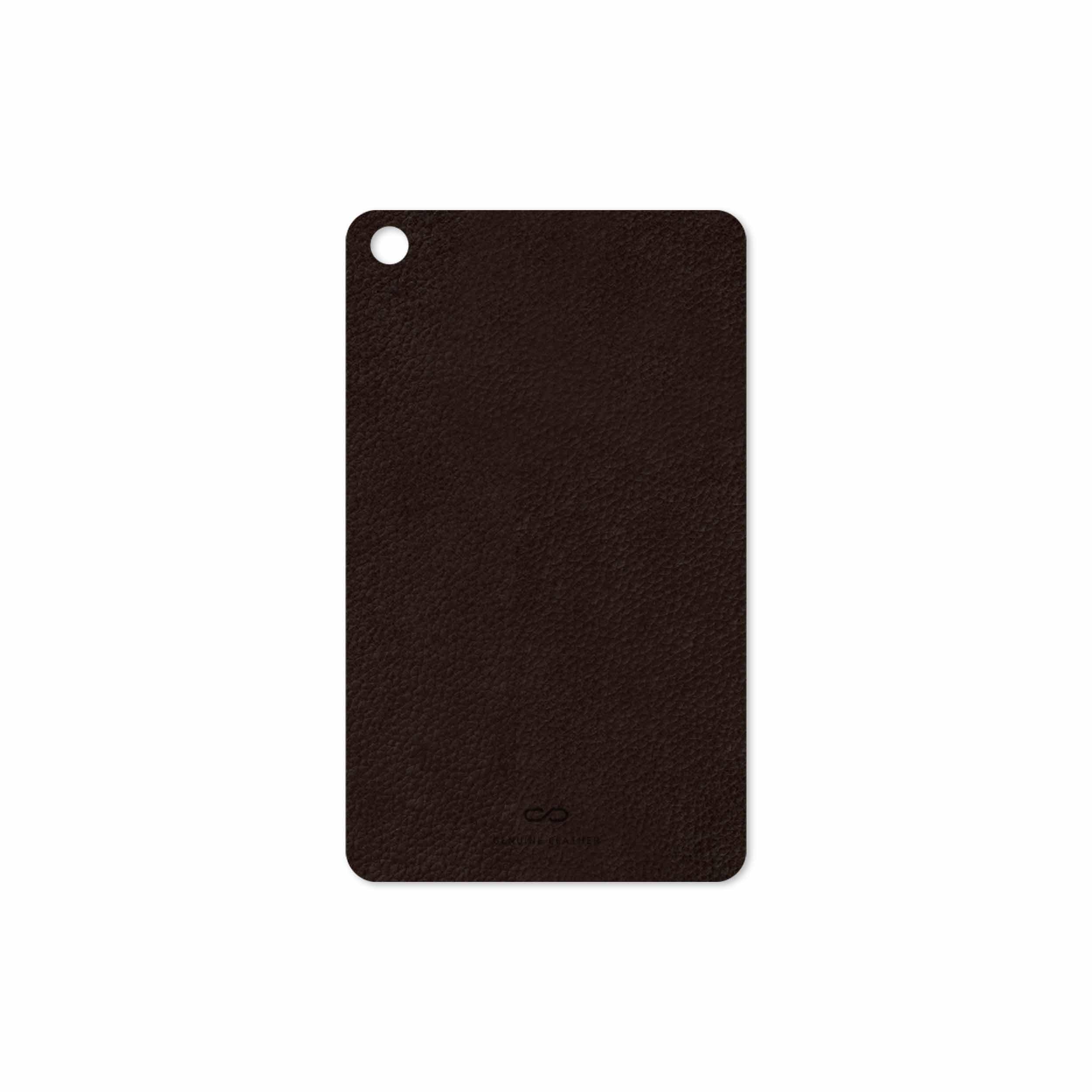 بررسی و خرید [با تخفیف]                                     برچسب پوششی ماهوت مدل Dark-Brown-Leather مناسب برای تبلت شیائومی Mi Pad 4 2018                             اورجینال