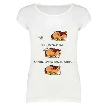 تی شرت زنانه مدل  SKH0005-000134