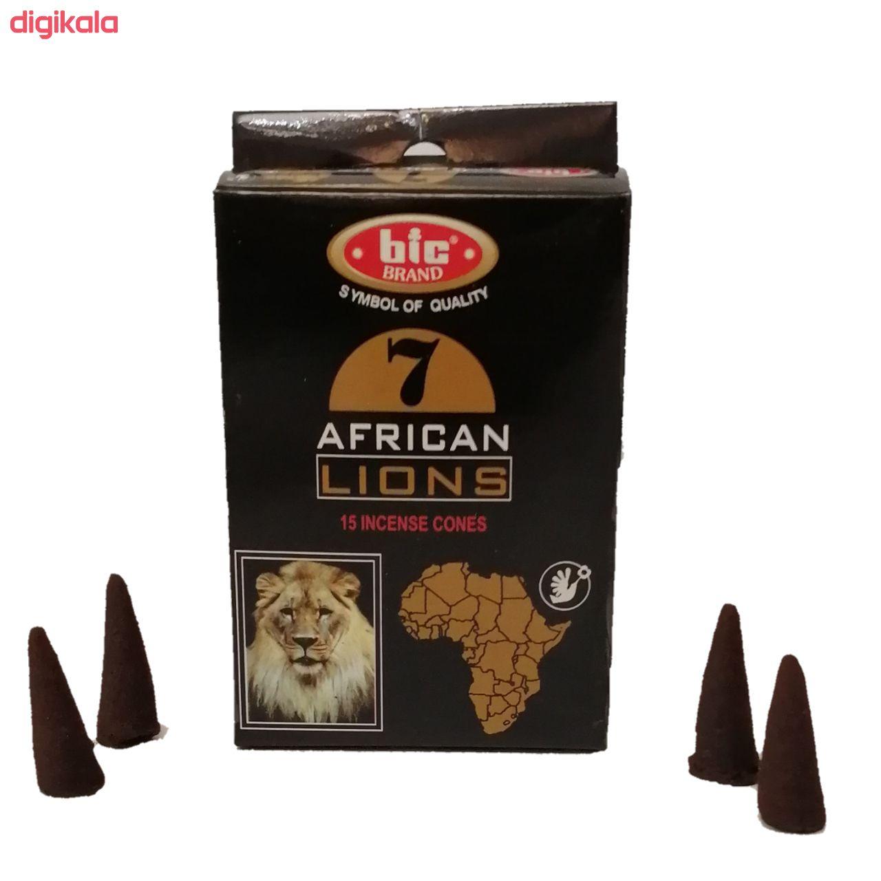 عود بیک طرح آبشاری مدل شیر افریقایی main 1 1