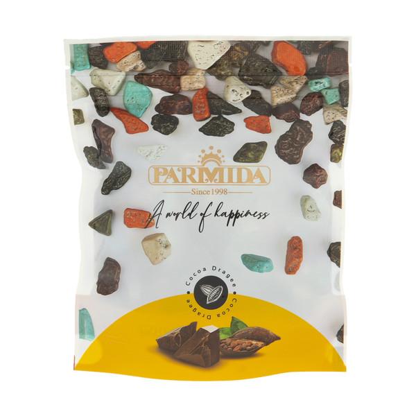 دراژه کاکائویی سنگی پارمیدا مقدار 240 گرم