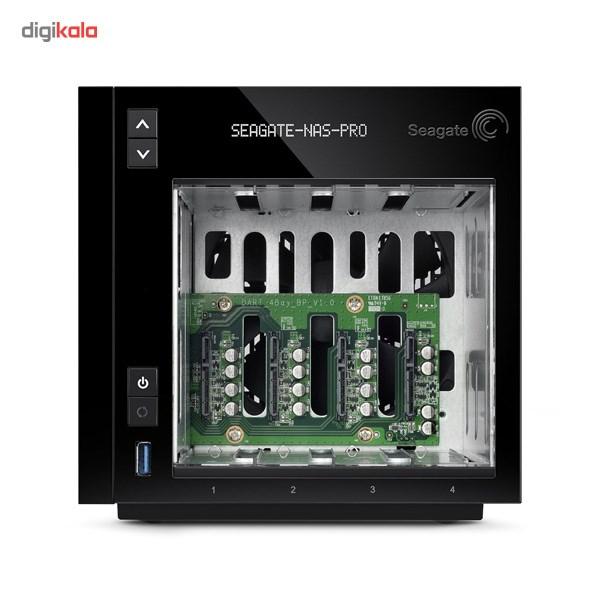 ذخیره ساز تحت شبکه سیگیت مدل Pro 4-Bay STDE16000200 ظرفیت 16 ترابایت