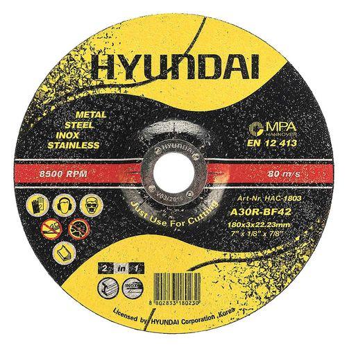 صفحه برش آهن و استیل هیوندای مدل HAC-1803  مجموعه 10 عددی
