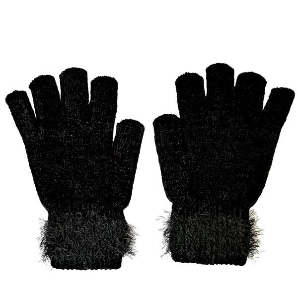 دستکش بافتنی زنانه مدل ZN