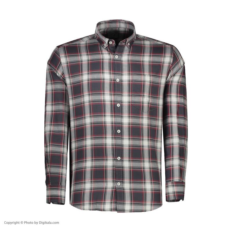 پیراهن آستین بلند مردانه زی مدل 153137MC