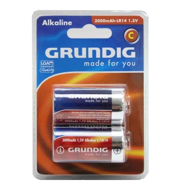 باتری سایز متوسط گراندیگ Alkaline C 3000mAh