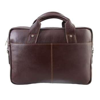 کیف اداری چرم طبیعی ماندگار مدل دو دسته کد 136033