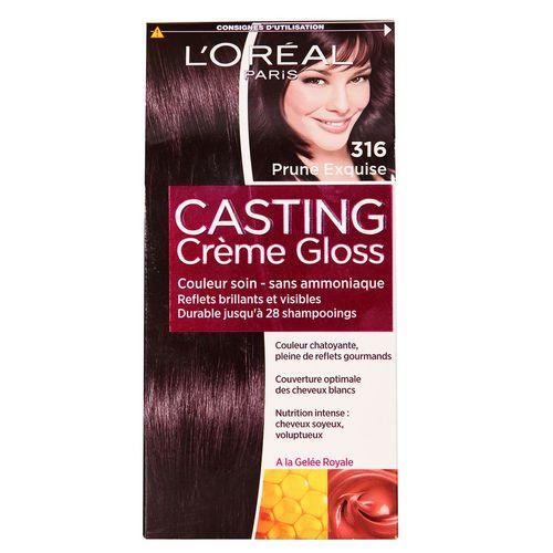کیت رنگ مو لورآل شماره Casting Creme Gloss 316