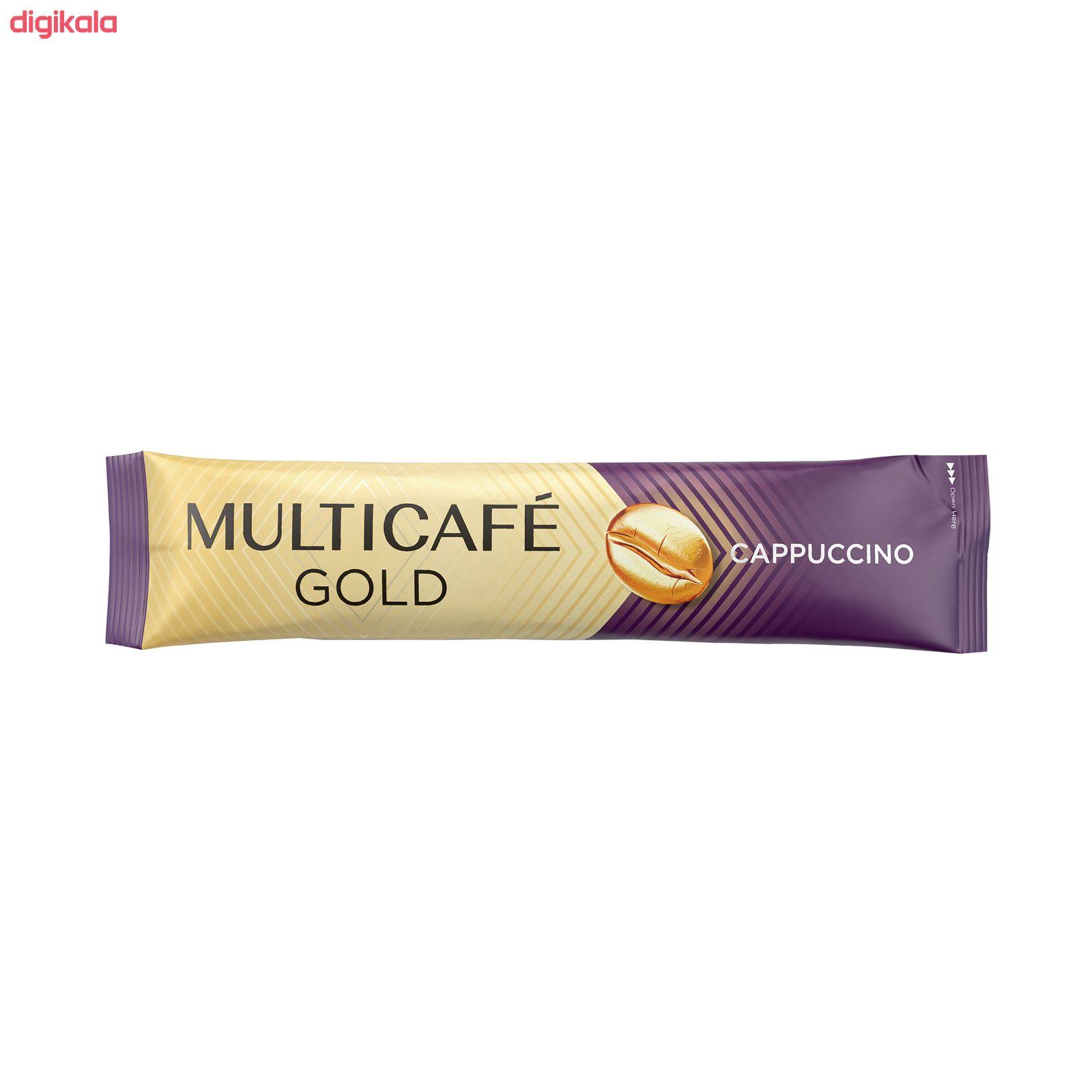 کاپوچینو گلد مولتی کافه بسته 5 عددی  main 1 3