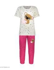 ست تی شرت و شلوارک راحتی زنانه مادر مدل 2041103-66 -  - 2