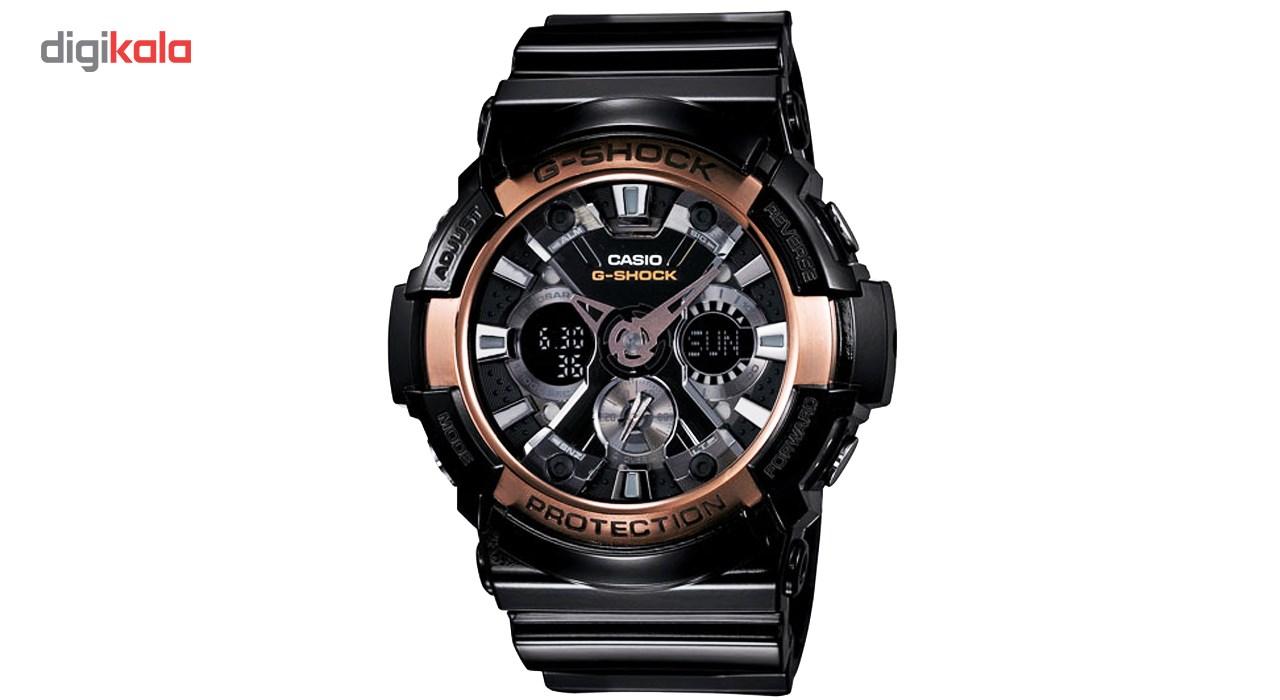 خرید ساعت مچی عقربه ای مردانه کاسیو جی شاک GA-200RG-1ADR | ساعت مچی