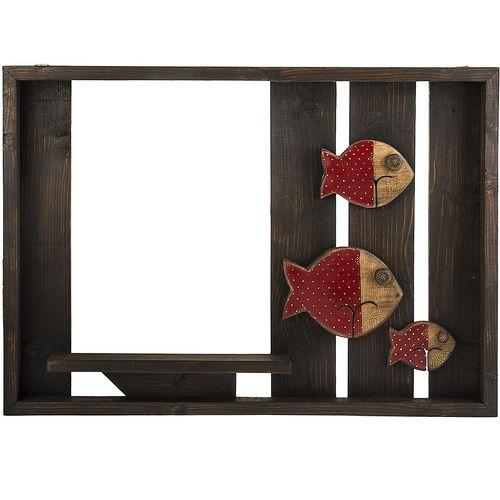 طبقه چوبی گالری ویلو وود طرح ماهی قرمز