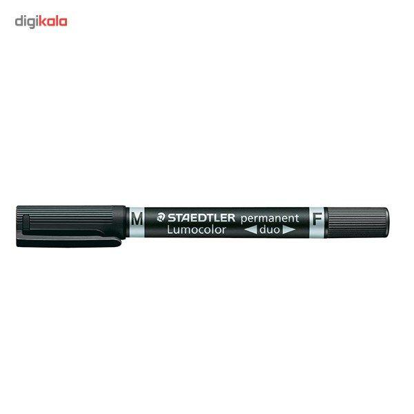 ماژیک پرمننت استدلر سری Lumocolor مدل Permanent Duo 3448 کد 348 main 1 2