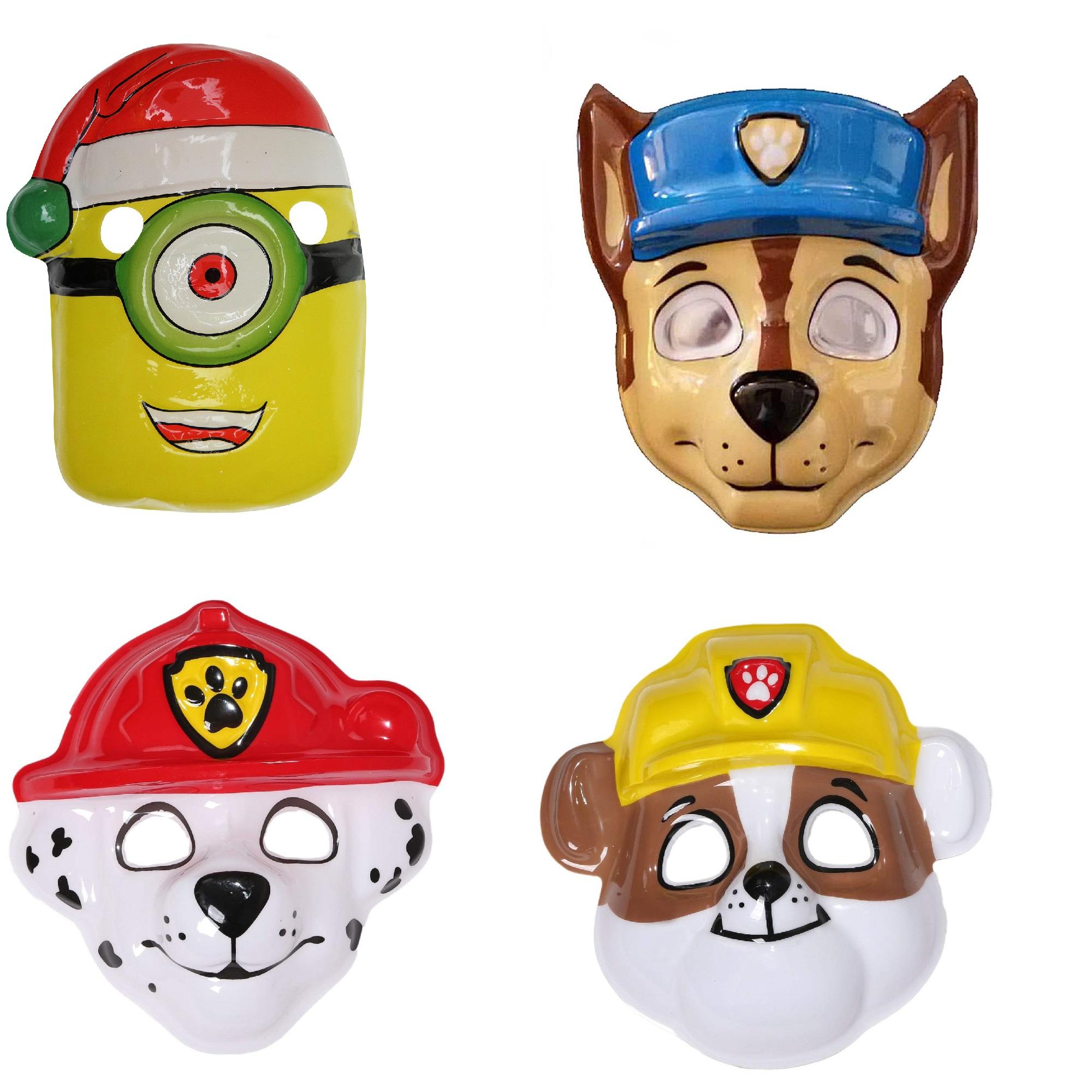 ابزار ایفای نقش مدل سگ های نگهبان و مینیون مجموعه 4 عددی