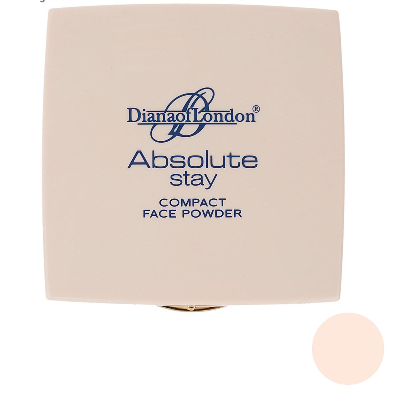 پنکیک دایانا آف لاندن سری Absolute Stay مدل Fresh Coral شماره 402