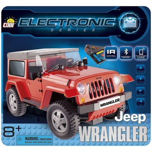 ماشین بازی کنترلی کوبی مدل Jeep Wrangler 21920