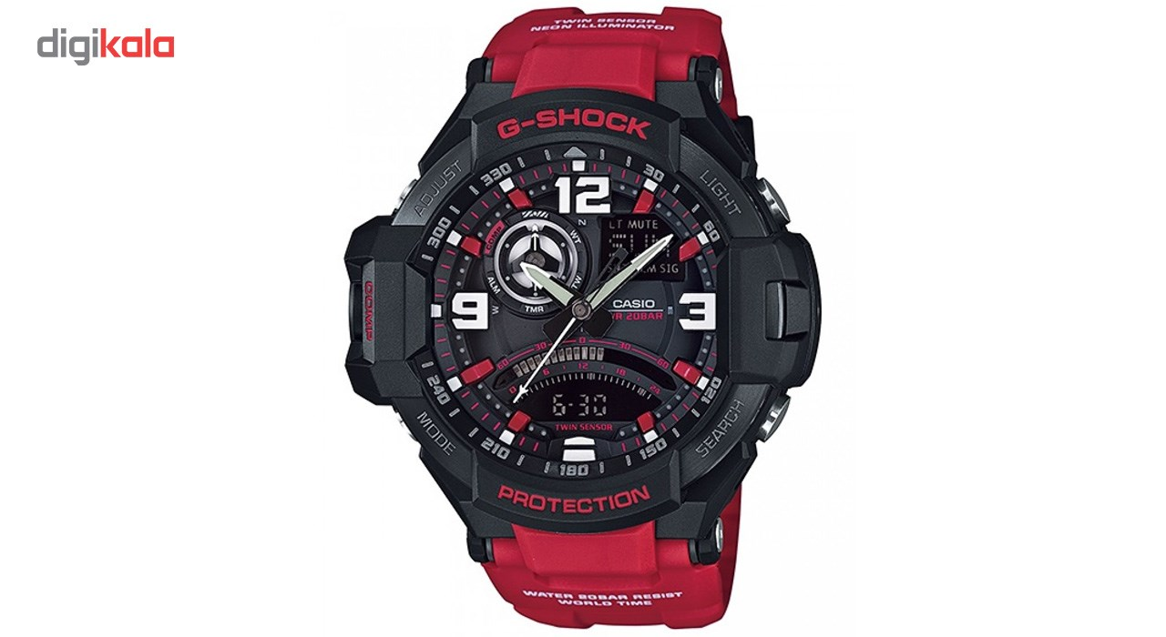 خرید ساعت مچی عقربه ای مردانه کاسیو مدل GA-1000-4BDR | ساعت مچی