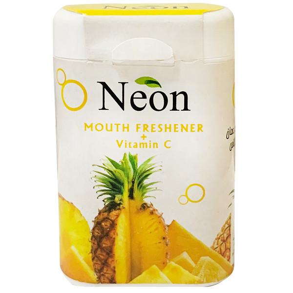قرص خوشبو کننده دهان نئون با طعم آناناس - 15 گرم