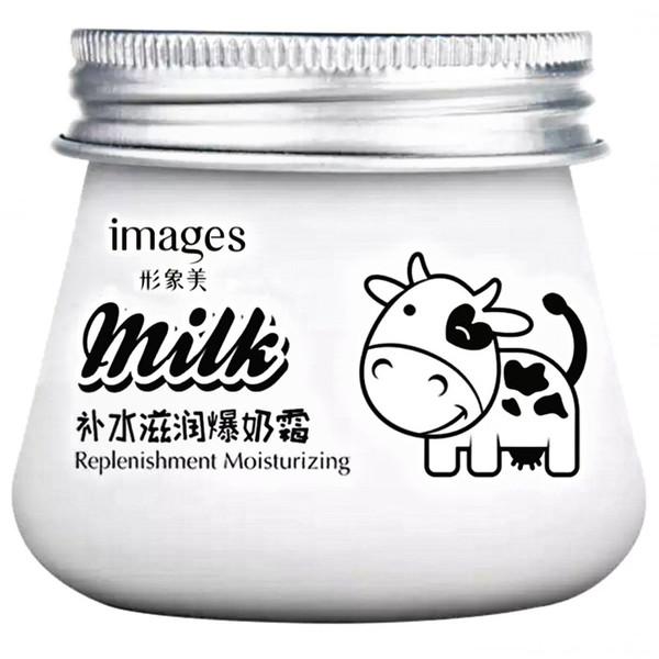 کرم مرطوب کننده ایمجز مدل شیر برفی وزن ۸۰ گرم