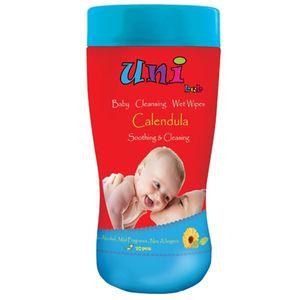 دستمال مرطوب یونی بب تمیز کننده کودک - بسته 70 عددی